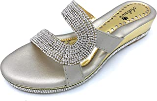 Ladies Indian Handmade Fashionable, Heel Style Leather Sandals. ADORA ASI 406-Silver