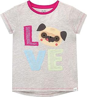 Harry Bear Camiseta de Manga Corta para niñas Doguillo Amor
