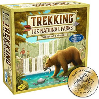 Trekking The National Parks: The Award-Winning Family Board Game (Second Edition)