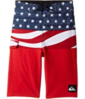 Quiksilver Kids - Everyday Blocked Boardshorts (Toddler/Little Kids)