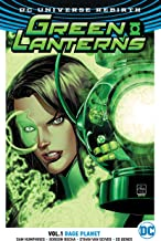 Green Lanterns Vol. 1: Rage Planet (Rebirth)