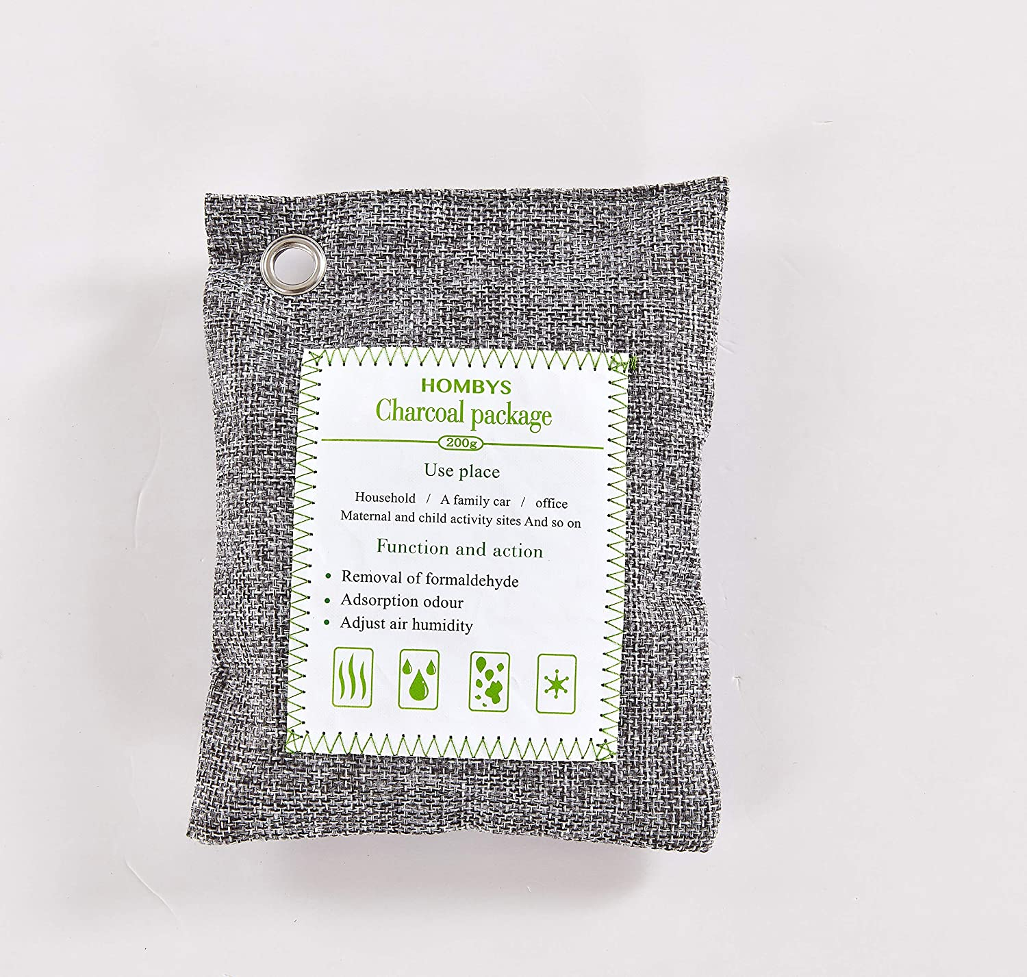 HOMBYS Air New mail order Purifying Bags Natural Charcoal Activated store Bamboo
