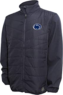 NCAA Men's Quilted Front Panel Bonded Jacket