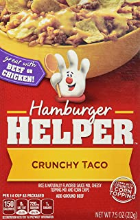 Betty Crocker CRUNCHY TACO Hamburger Helper 7.5oz (2 Pack)