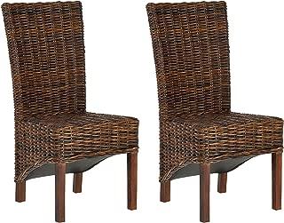 Safavieh Safavieh Home Collection Ridge Croco Color Dining Chair, Set of 2,