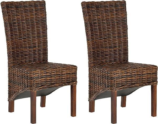 Safavieh FOX6523A SET2 家居收藏 Ridge Croco 彩色餐椅 2 件套