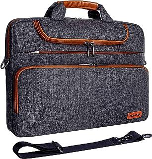 """DOMISO 17 Pouces Imperméable Sacoche de Protection Ordinateur Portable Sac à Bandoulière pour 17-17.3"""" Notebook/Dell/Lenov..."""
