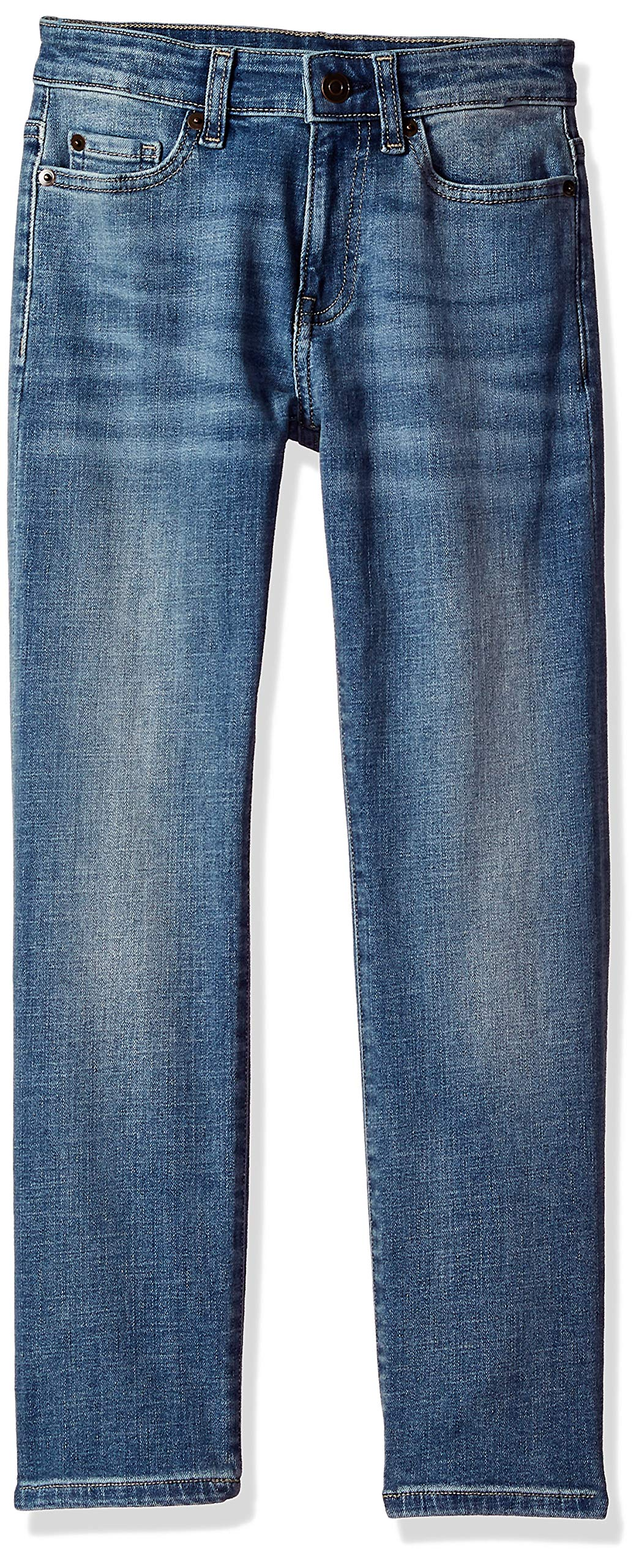 Essentials Boys Straight-fit Stretch Jean