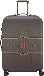 Delsey Paris Chatelet Air 67 cm 4 Double Wheels Trolley Suitcase (Softside), Chocolate (00167281006)