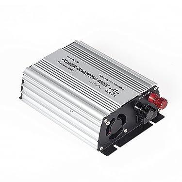 E-LION 400W Power Inverter DC 12V,Output 110V-120V AC Car Inverter with USB Car Adapter
