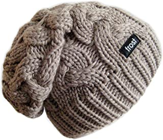 Frost Hats Warm Winter Beanie for Women Chunky Cable Knit Hat M179