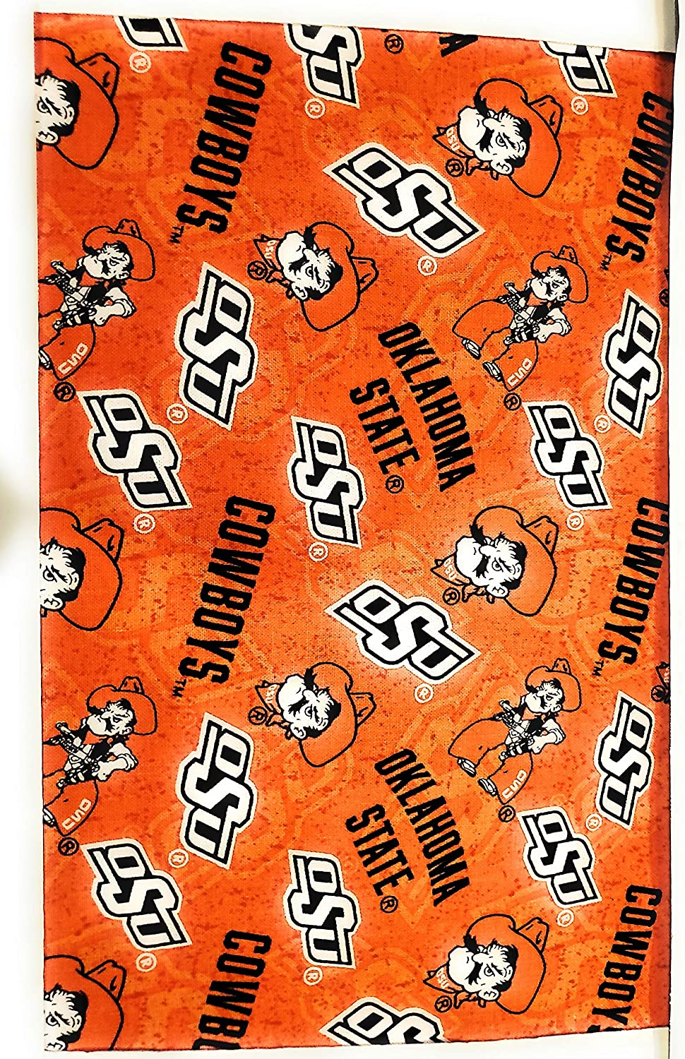 Oklahoma State Ranking TOP12 University Super special price Cotton Fabric De with ON Tone New