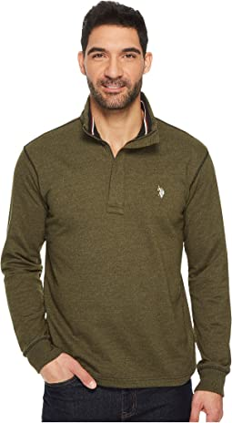 Long Sleeve French Terry 1/4 Zip Pullover