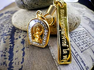 22K-plate-gold-chain-for-men-22k-gold-necklace-thai-Amulet-Bring-Luck-Vishnu-A2
