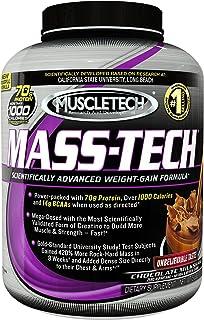 Muscletech Mass Tech 5lbs. (2.27kg) Pwd - Vanilla Milkshake - Us, 5-Pound