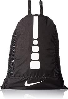 Hoops Elite Gymsack (Black/White 010)