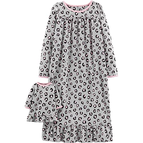 f845fcf1c Carter's Girls' 4-14 Jersey Gown and Doll Dress Set