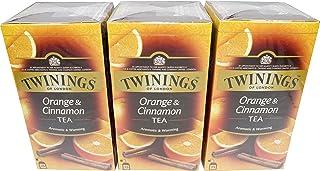 Twinings of London Orange Cinnamon 3 x 25 Teebeutel