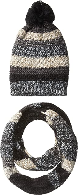 Steve Madden Night Wanderer Mixed Yarn Two-Piece Set