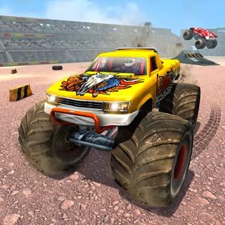 Real Derby Crash Stunts Monster Truck Demolition