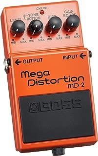 Boss MD-2 Mega Distortion Modulation Multi Effects Pedal