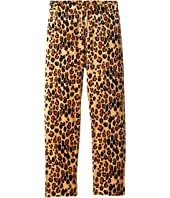 mini rodini - Leopard Velour Sweatpants (Infant/Toddler/Little Kids/Big Kids)