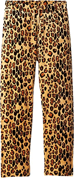 Leopard Velour Sweatpants (Infant/Toddler/Little Kids/Big Kids)