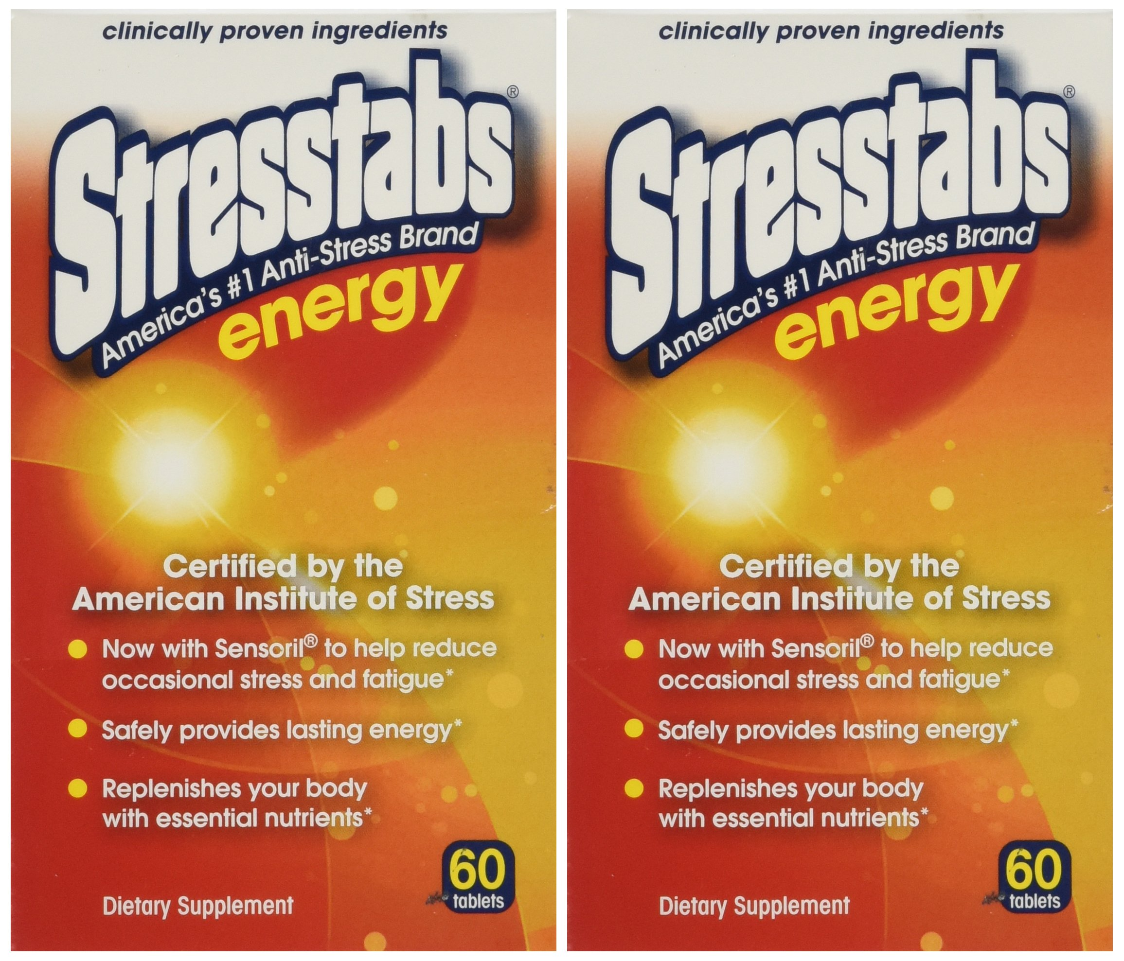Stresstabs Energy Tablets 60 Ea(2 Pack)