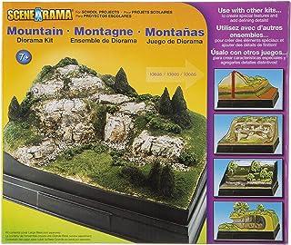Woodland Scenics Diorama en Carton Kit de Montagne
