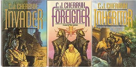 3 Volumes of C.J. Cherryh: Foreigner , Invader, & Inheritor [Foreigner Universe Trilogy]