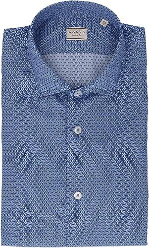 XACUS Homme 41505004 Bleu Coton Chemise