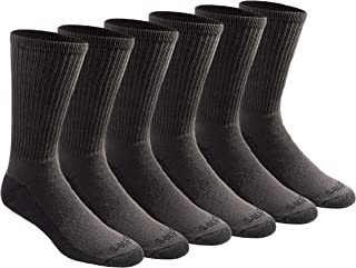 Dickies Men's Multi-pack Dri-tech Moisture Control Crew Socks
