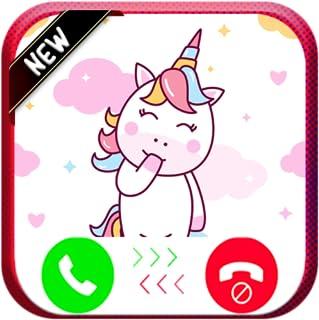 Fake Game Call From Unicorn - Free Fake Phone Calls ID PRO 2020 - PRANK