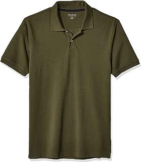 Men's Slim-Fit Cotton Pique Polo Shirt