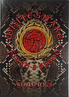 Signed Whitesnake Autographed Tour Program Certified Authentic Jsa # Ee99131