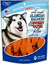 product image for Carolina Prime Pet 45111 Salmon And Sweet Tater Fillets Treat For Dogs ( 1 Pouch), One Size
