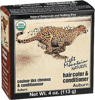 LIGHT MOUNTAIN Natural Hair Color 3 Piece - Auburn, 12 Ounce (187001)