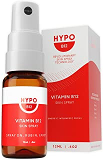 Sponsored Ad - Hypo Vitamin B12 Skin Spray, Up to 17X More Effective Than Pills and Drops, Faster Absorption. Supports Ene...