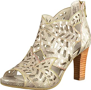 LAURA VITA Alcbaneo 0491, Sandales Bout Ouvert Femme