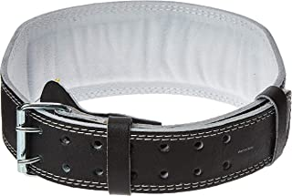 Body Sculpture SOLX-BW-503NB-B Leather Fitness Belt