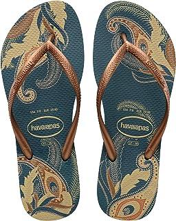 83297a9a3727 Amazon.com  Orange - Flip-Flops   Sandals  Clothing