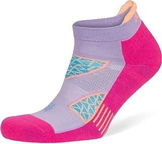 Balega Women's Enduro V-Tech No Show Socks (1 Pair), Lavender/Electric Pink, Large