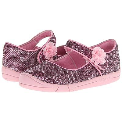 Jumping Jacks Kids Sylvia (Toddler) (Pink Glitter/Pink Trim) Girl