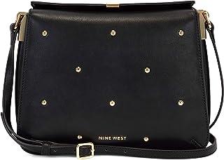 حقيبة كروس من ناين ويست، لون اسود