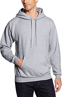 (lightsteel, 4xl) - Hanes Big & Tall Men's EcoSmart Fleece Pullover Hoodie with Front Pocket