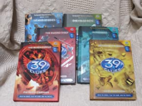 The 39 Clues book 1 The Maze of Bones, book 2 One False Note, book 3 The Sword Thief, book 4 Beyond the Grave, book 5 The ...
