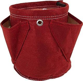 حقيبة زرع للأعشاب الصغيرة من بلوم باجز، 4.5 لتر، لون أحمر الاتحاد