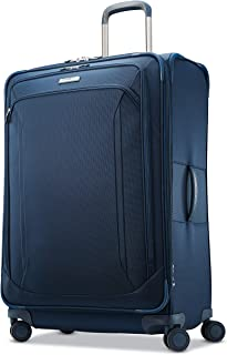 Samsonite Lineate Expandable Softside Luggage with Double Spinner Wheels