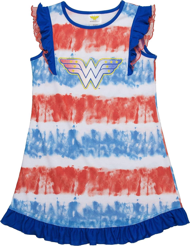 DC Comics Big Girl's Wonder Woman Super Heroes Costume Nightgown Pj