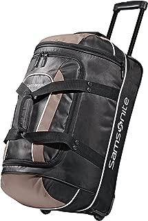 Samsonite Luggage Andante Wheeled Duffel 22, Black/Grey